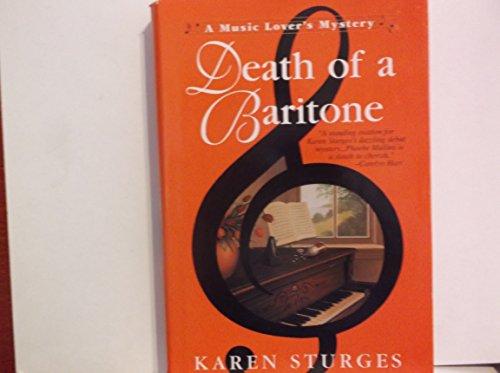 Death Of A Baratone: Sturges, Karen