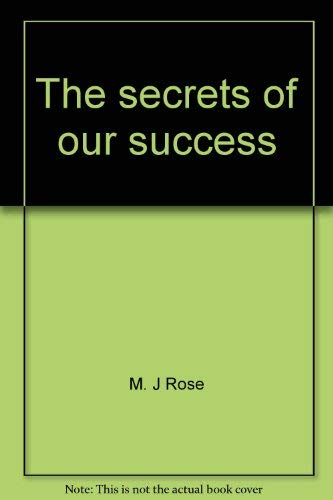 The secrets of our success (0739410180) by M. J Rose