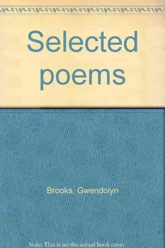 9780739415894: Selected poems