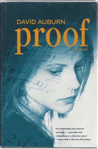 Proof (9780739416235) by David Auburn