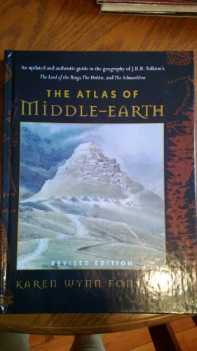 9780739422007: The Atlas of Middle-Earth by Karen Wynn Fonstad Published by Houghton Mifflin Revised edition (1991) Hardcover