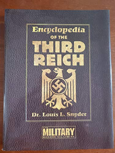 9780739423608: Encyclopedia of the Third Reich [Hardcover] by