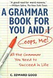 9780739425251: A Grammar Book For You and I...Oops, Me
