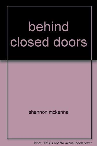 9780739428450: behind closed doors