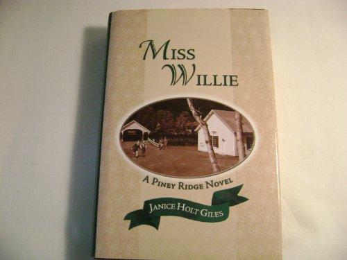 Miss Willie LARGE PRINT: Giles, Janice