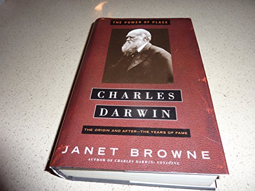 9780739442777: Charles Darwin the Power of Place, Vol II of a Biography [Hardcover] by Brown...