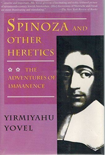 9780739450765: Spinoza and Other Heretics : The Adventures of Immanence