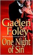 9780739453599: One Night of Sin (Knight Series)