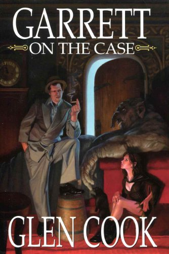 Garrett On The Case - Contains Angry Lead Skies; Whispering Nickel Idols - Book Club Edition: Cook,...