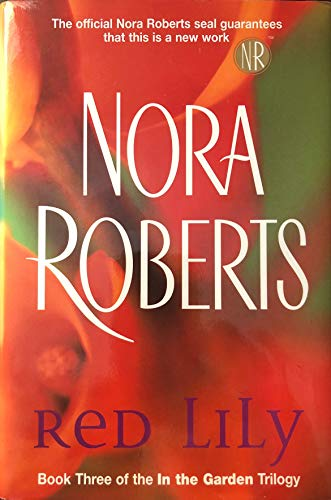 9780739461556: RED LILLY: Book 3 in the Garden Trilogy [Large Print]