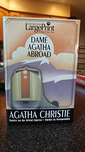 9780739461983: Dame Agatha Abroad Unabridged (Murder on the Orient Express; Murder in Mesopotamia)