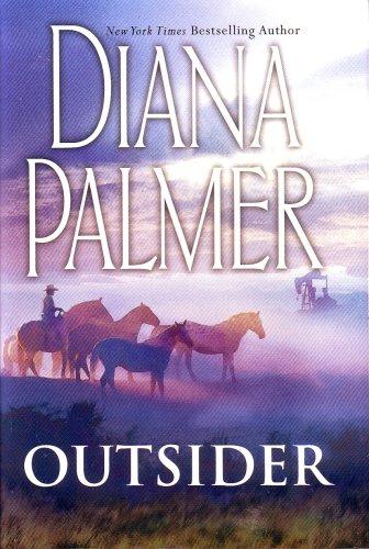 9780739471043: Outsider (Large Print) (Long, Tall Texans)