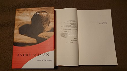 9780739480427: Call Me By Your Name [Gebundene Ausgabe] by Andre Aciman