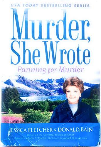 9780739488508: Murder She Wrote; Panning for Murder (LARGE PRINT) [Gebundene Ausgabe] by Jes...