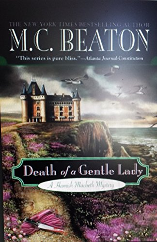 9780739492093: Death Of A Gentle Lady - Large Print Edition