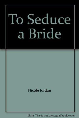9780739493298: To Seduce a Bride