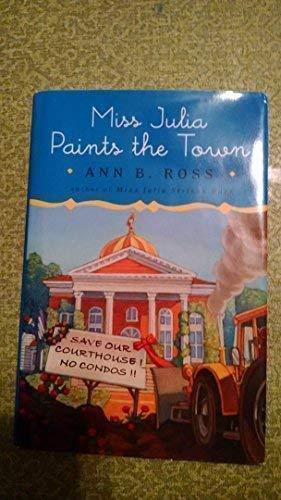 9780739495032: Miss Julia Paints the Town: Large Print Edition