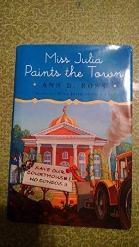 9780739495032: Miss Julia Paints the Town: Large Print Edition