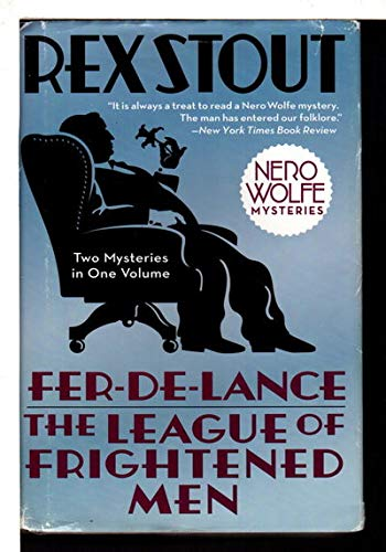 9780739496442: Fer-De-Lance and The League of Frightened Men (LARGE PRINT)