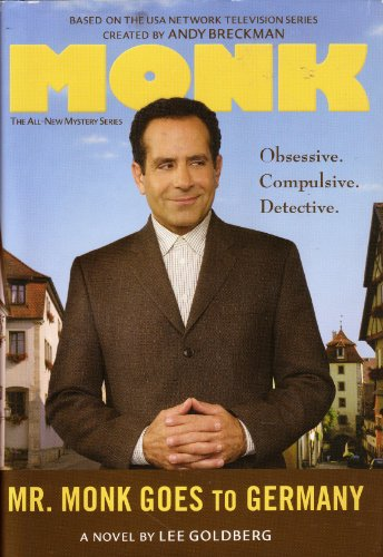 9780739496503: Mr. Monk Goes to Germany -- LARGE PRINT