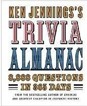 9780739498934: Ken Jennings's Trivia Almanac: 8,888 Questions in 365 Days