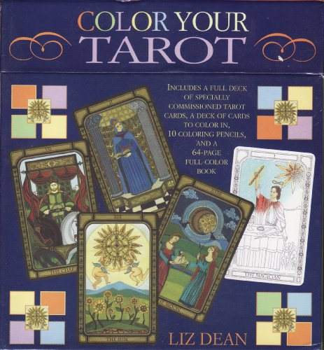 Color Your Tarot (Boxed Set): Dean, Liz