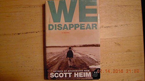 9780739499955: We Disappear [Hardcover] by