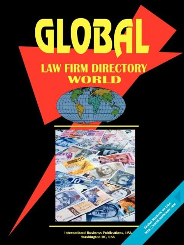 9780739705490: Global Law Firms Directory, World: 1