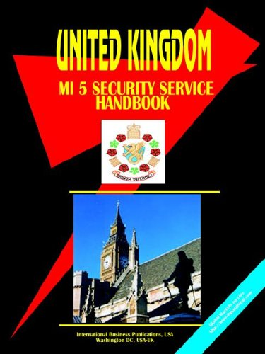 9780739709955: United Kingdom MI 5 Security Service handbook