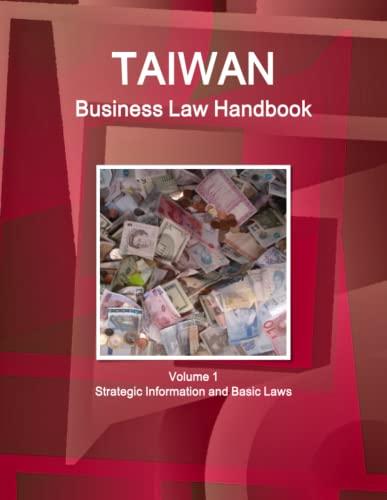 Taiwan Business Law Handbook: Ibp Usa, Center, Emerging Markets Investment