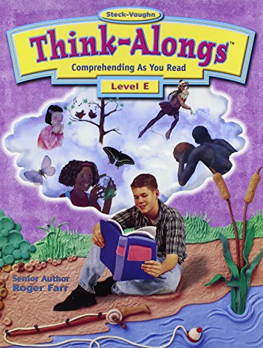 9780739800874: Steck-Vaughn Think Alongs: Student Workbook (Level E)