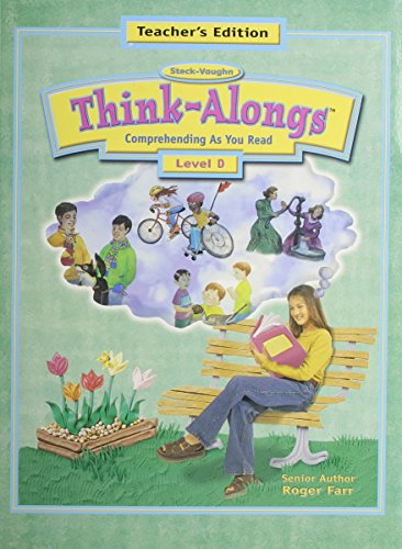 9780739800928: Steck-Vaughn Think Alongs: Teacher's Edition (Level D) 2000