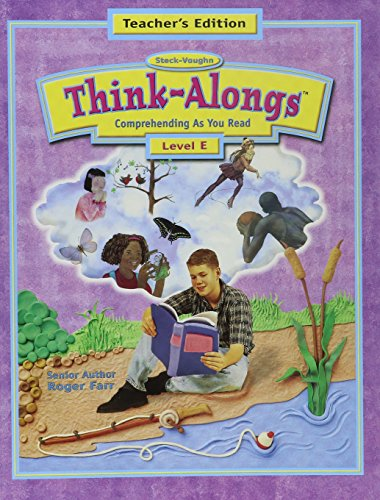 9780739800935: Steck-Vaughn Think Alongs: Teacher's Edition (Level E) 2000