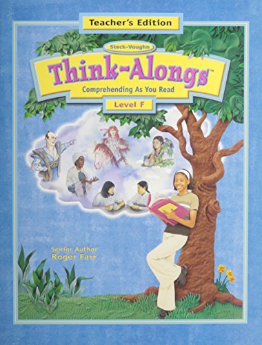9780739800942: Steck-Vaughn Think Alongs: Teacher's Edition (Level F) 2000