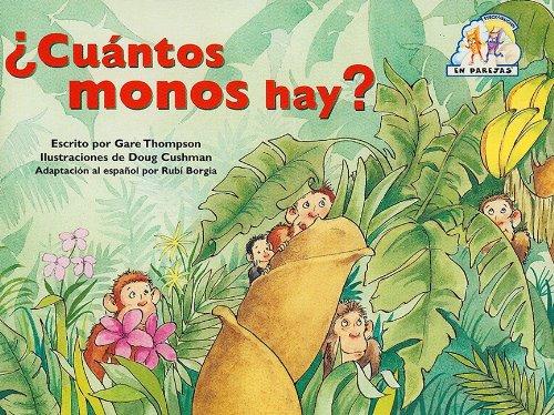 9780739807804: Steck-Vaughn En parejas: Leveled Reader Cuantos Monos Hay (Spanish Edition)