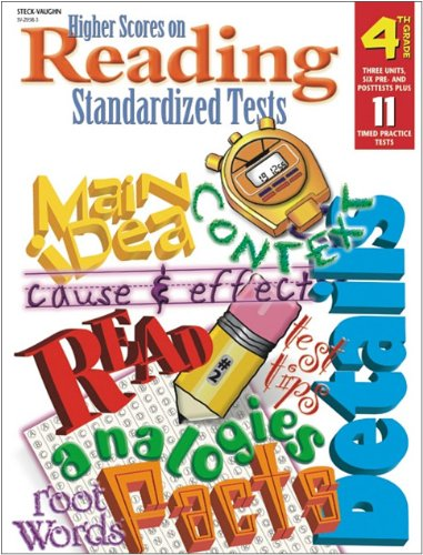 9780739820582: Steck Vaughn Higher Scores on Reading Standardized Tests: Student Test Grade 4