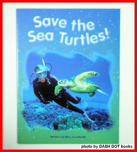Save the Sea Turtles Nf (Pair-It Books): Leonhardt