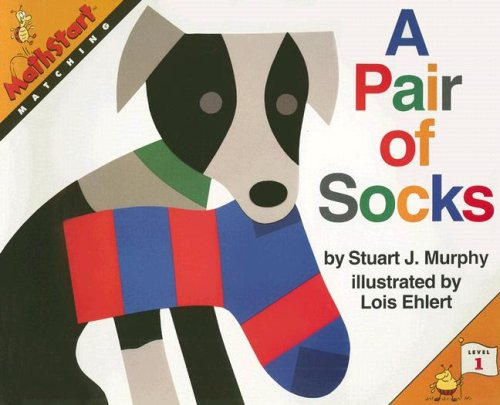 9780739825136: A Pair of Socks: Matching (Mathstart: Level 1 (HarperCollins Paperback))