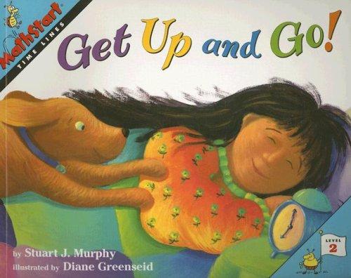 9780739825372: Get Up and Go! (Mathstart: Level 2 (HarperCollins Paperback))