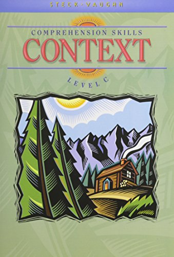 9780739826409: Steck-Vaughn Comprehension Skill Books: Student Edition Context Context