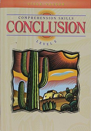 9780739826508: Comprehension Skills - Conclusion: Level E