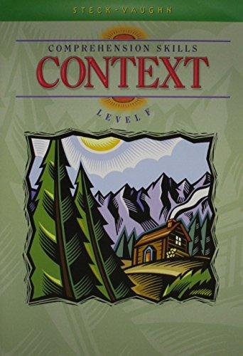 9780739826645: Comprehension Skills Level F Set (Steck-Vaughn Comprehension Skill Books)
