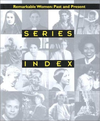 9780739827895: Series Index: Past and Present Series Index (Remarkable Women : Past and Present)