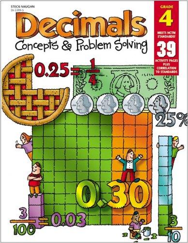 9780739833995: Decimals: Concepts & Problem Solving, Grade 4