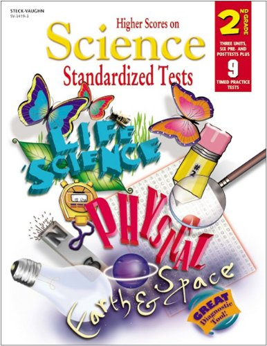 9780739834190: Steck-Vaughn Higher Scores on Science Standardized: Standardized Tests Grade 2 Science