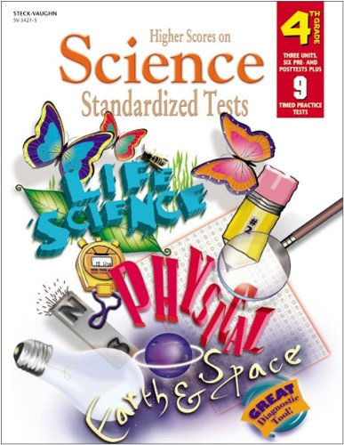 9780739834213: Higher Scores on Standardized Tests for Science: Reproducible Grade 4