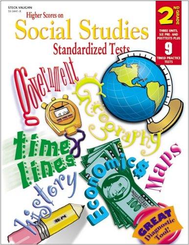 9780739834411: Steck-Vaughn Higher Scores on Social Studies Stand: Student Workbook Grade 2 Social Studies (Higher Scores on Soc Std Tests)