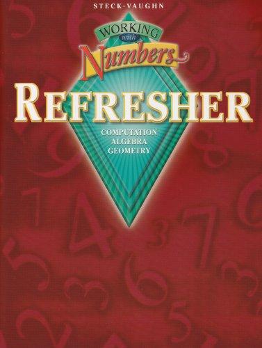 9780739835456: Working with Numbers Refresher: Computation / Algebra / Geometry
