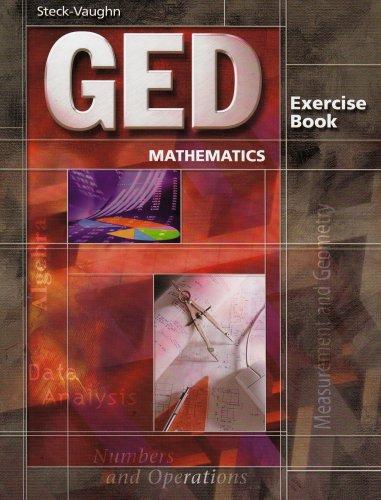 9780739836033: Ged Mathematics: Exercise Book (Steck-Vaughn GED)