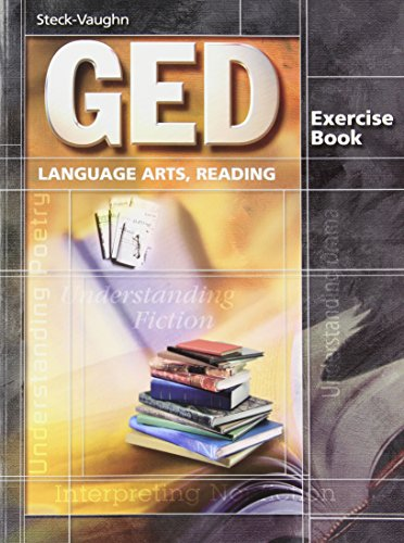 9780739836040: GED Exercise Books: Student Workbook Language Arts, Reading